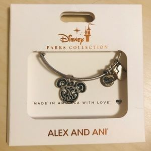 Alex & Ani Parks Collection Mickey Mouse Bracelet